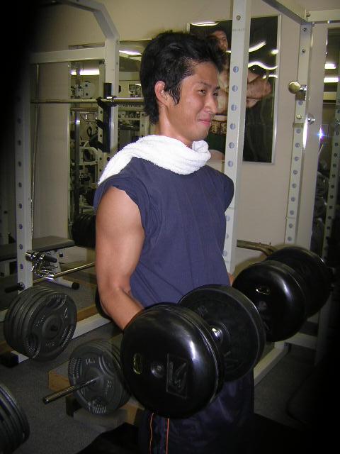 吉川さん/広島市西区 スポーツジム ボディビル